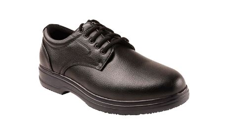 MENS SERVICE FAUX LEATHER WORK OXFORDS BY DEER STAGS