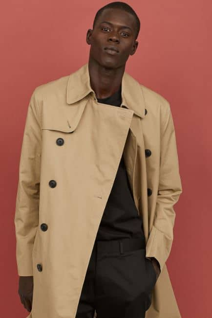 MENS SHORT TRENCH COAT FROM H&M