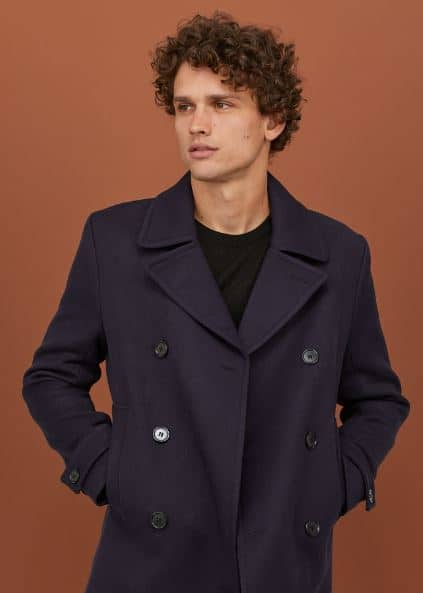 TWILL PEA COAT FROM H&M