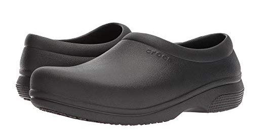 UNISEX ON THE CLOCK WORK CLOGS FROM CROCS - vegan shoes for nursing