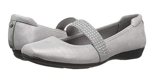 UP ALL NIGHT RHINESTONE MARY JANE FLATS FROM ANNE KLEIN