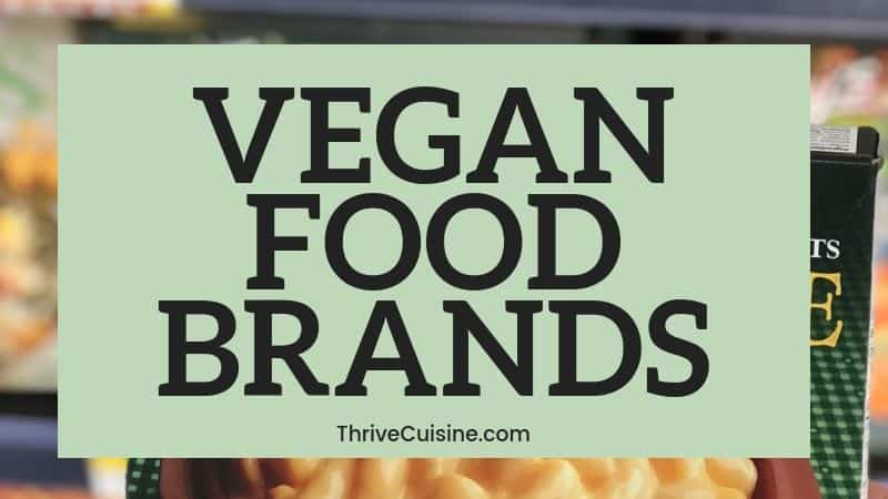 VEGAN FOOD BRANDS