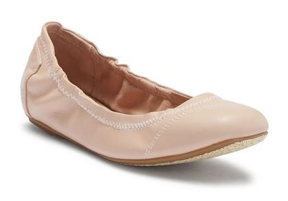 VEGAN LEATHER BALLET FLATS FROM TOMS