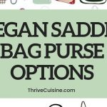 VEGAN SADDLE BAG PURSE