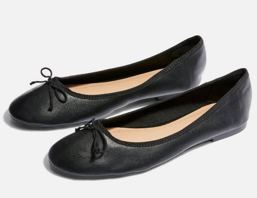 VERITY BALLERINA FLATS FROM TOPSHOP
