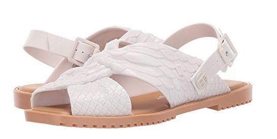 WOMENS BAJA EAST + SAUCE FLAT SANDALS FROM + MELISSA LUXURY SHOES