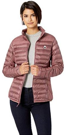 WOMENS EVERGREEN PUFFER COAT FROM BURTON