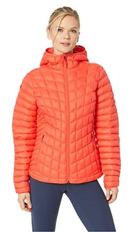 WOMENS FEATHERLESS HOODED PUFFER COAT BY MARMOT