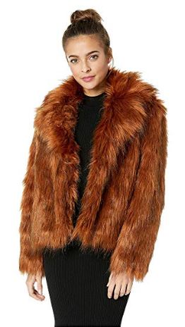WOMENS PENNY LANE FAUX FUR JACKET BY BB DAKOTA