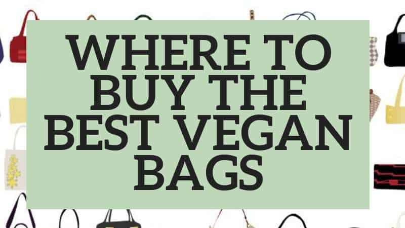 best vegan bag styles and where to buy them