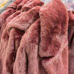 faux fur vegan fur jacket