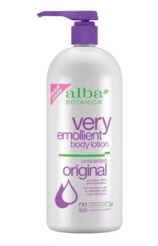 Alba Botanica Very Emollient Unscented Body Lotion