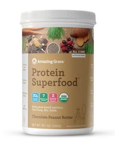 Amazing Grass Chocolate Peanut Butter Protein Superfood