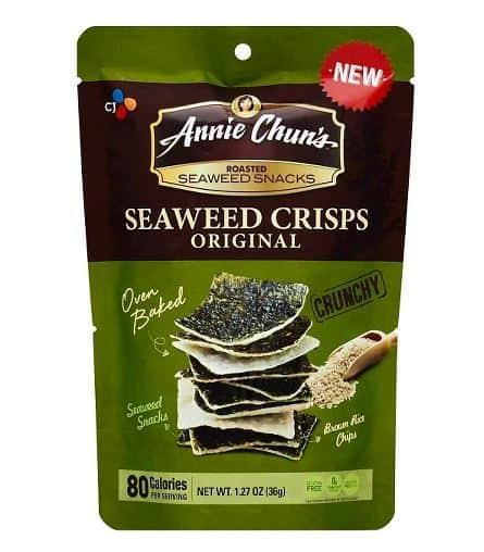 Annie Chuns Original Seaweed Crisps