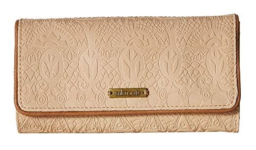 BLUSH ARCADIA TRIFOLD CLUTCH WALLET BY SAKROOTS