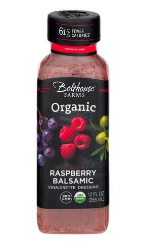 Bolthouse Farms Organic Raspberry Balsamic Vinaigrette