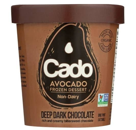 CADO DEEP DARK CHOCOLATE AVOCADO ICE CREAM