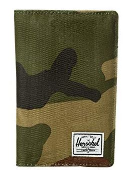 CAMO PRINT SEARCH RFID TRAVEL WALLET BY HERSCHEL SUPPLY CO.