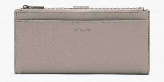 CEMENT GRAY MOTIV CLUTCH WALLET BY MATT & NAT