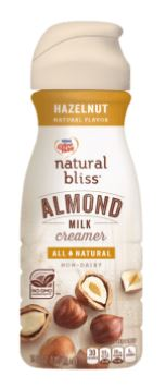 Coffee Mate Natural Bliss Hazelnut Almond Milk Creamer