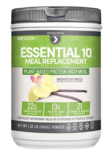 Designer Protein Madagascar Vanilla Essential 10 Meal Replacement