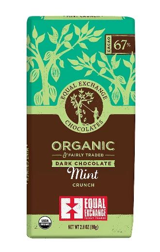 Equal Exchange Dark Chocolate Mint Crunch