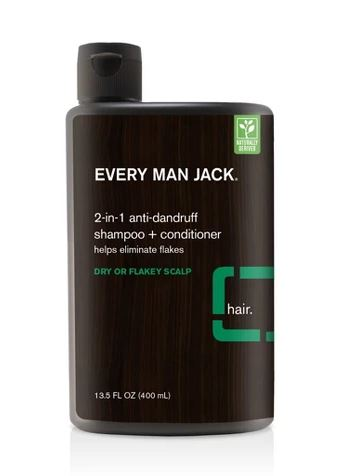 Every Man Jack 2-in-1 Anti-Dandruff Shampoo + Conditioner