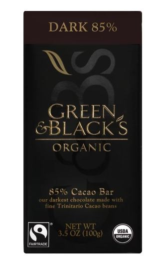 Green & Blacks Organic 85% Cacao Bar