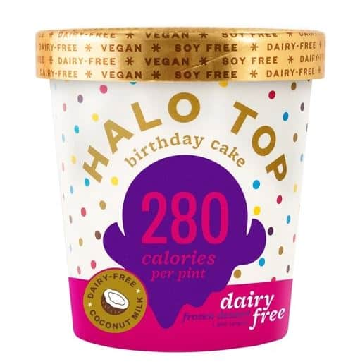 Halo Top Birthday Cake Vegan Ice Cream