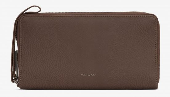 MENS CHESTNUT SKYLER TRAVEL WALLET BY MATT & NAT