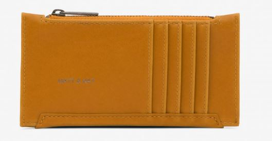 MUSTARD YELLOW VINTAGE INSPIRED JESSE WALLET BY MATT & NAT