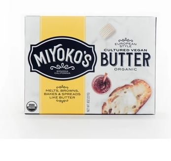 Miyokos European Style Cultured Vegan Butter