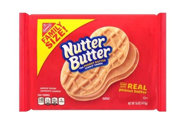 NABISCO NUTTER BUTTERS