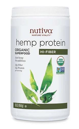 Nutiva Hi-Fiber Hemp Protein
