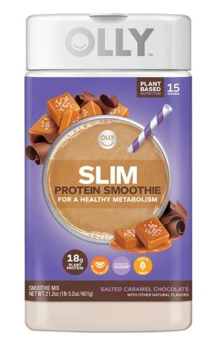 Olly Salted Caramel Chocolate Slim Protein Smoothie