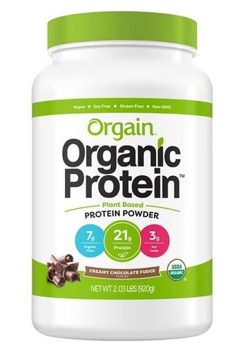Orgain Creamy Chocolate Fudge Organic Protein