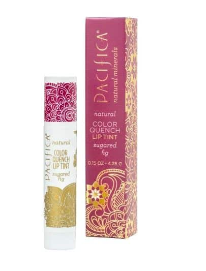 PACIFICA MAUVE COLOR QUENCH MINERAL LIP TINT IN SUGARED FIG