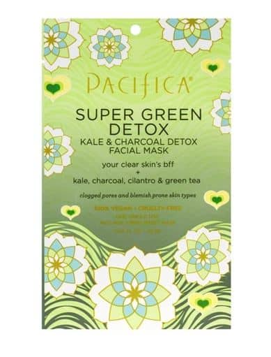 PACIFICA SUPER GREEN DETOX KALE AND CHARCOAL MASK