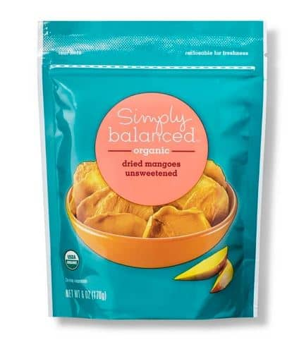 Simply Balanced Dried Mango