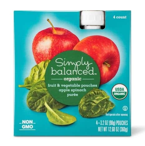 Simply Balanced Fruit & Vegetable Pouches