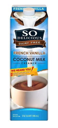 So Delicious French Vanilla Coconut Milk Creamer