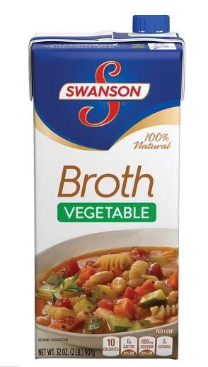 Swanson Vegetable Broth