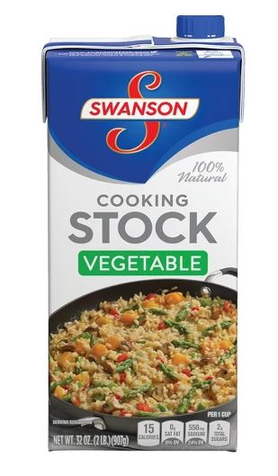 Swanson Vegetable Cooking Stock