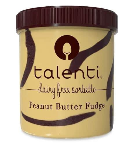 TALENTI PEANUT BUTTER FUDGE VEGAN SORBETTO