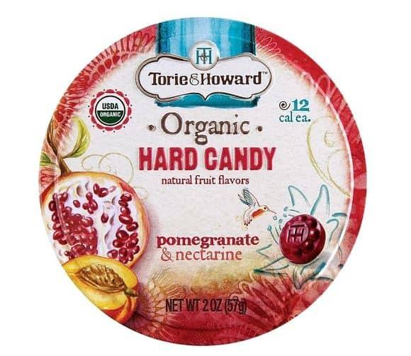 TORIE & HOWARD POMEGRANATE & NECTARINE HARD CANDIES