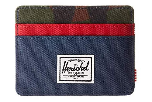 UNISEX CHARLIE MULTICOLOR RFID SLIM WALLET BY HERSCHEL SUPPLY CO.