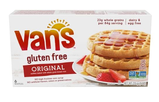 Vans Gluten Free Waffles