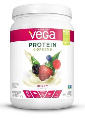 Vega Protein & Greens Berry Protein Powder