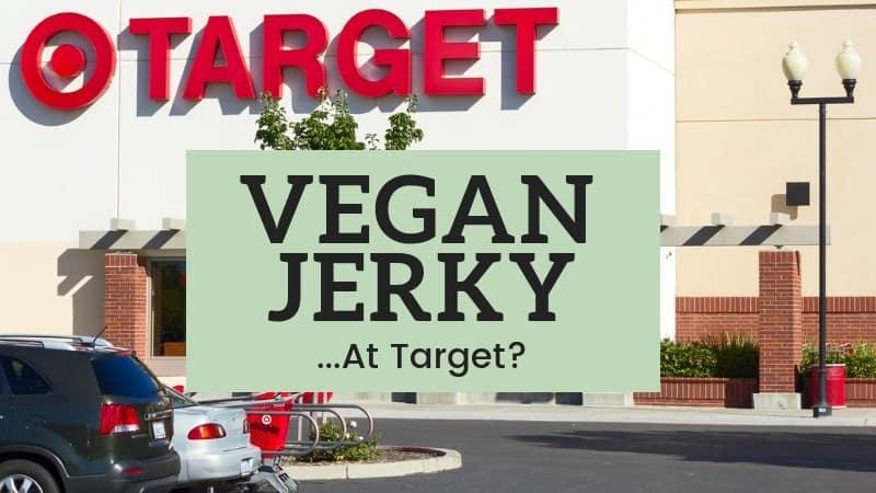 Vegan Jerky at target