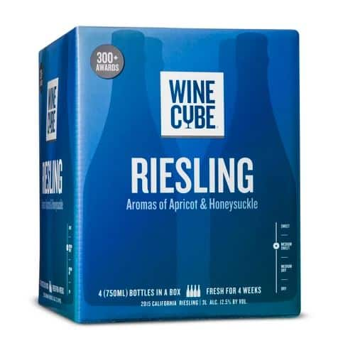 Wine Cube Riesling
